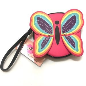 Betsey Johnson Luv Betsey Butterfly Coin Clutch